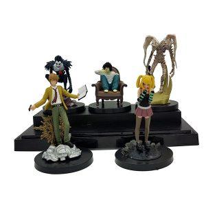 اکشن فیگور ست شخصیت های دفترچه مرگ