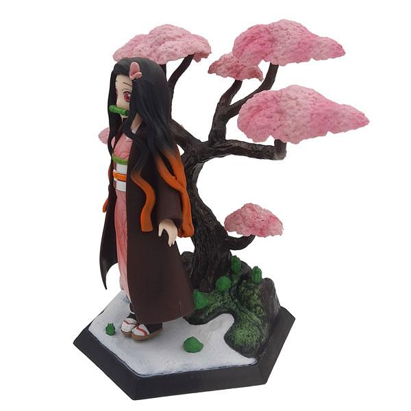 اکشن فیگور نزوکو همراه درخت سری اهریمن کش
