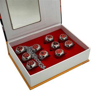 ست کامل انگشترهای خاندان یوچیها سری ناروتو